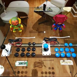 Arcade Fightstick - Botones Y Palancas Tipo Sanwa Desde S/.6