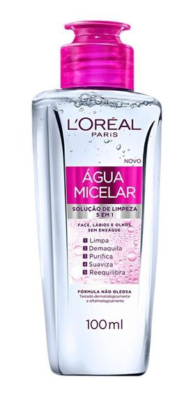 Loréal Paris Água Micelar 5 Em 1 - Demaquilante 100ml
