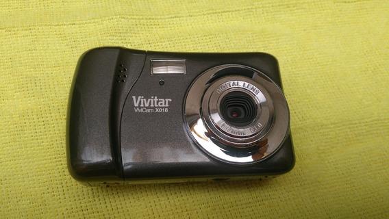 Câmera Fotográfica Digital Vivitar Vivicam X018