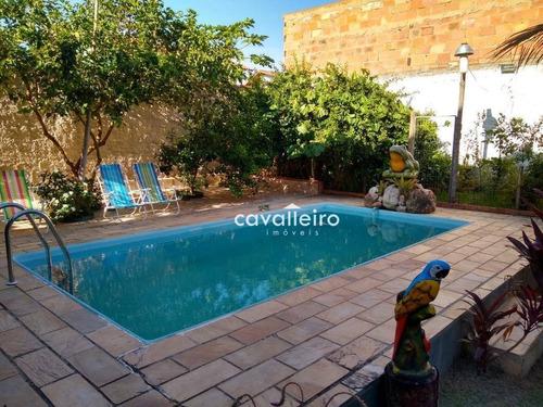 Casa Em Marica Excelente Localização! - Ca3478