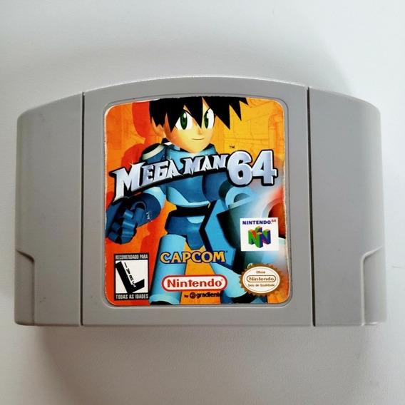 #2 Mega Man 64 Original N64 Nintendo 64