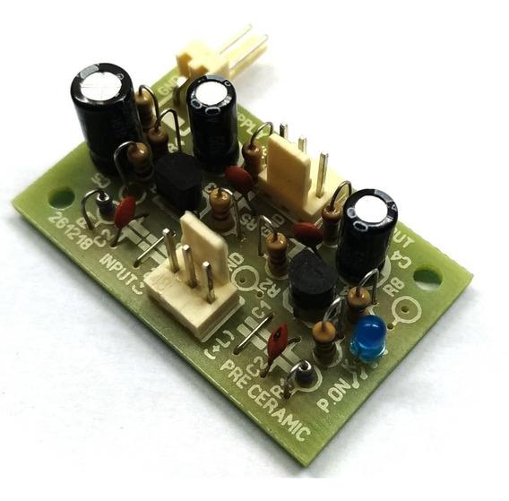 Pre Amplificador Para Capsula Ceramica