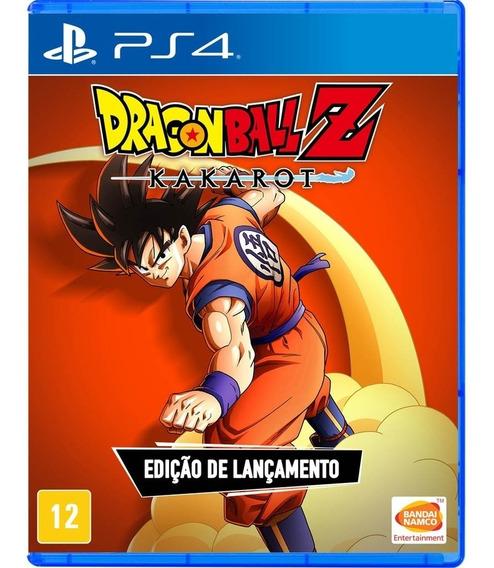 Dragon Ball Z Kakarot Ps4 Mídia Física Em Português