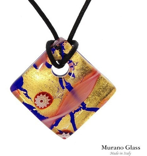 Pingente Murano Glass Collection Made In Italy Superb