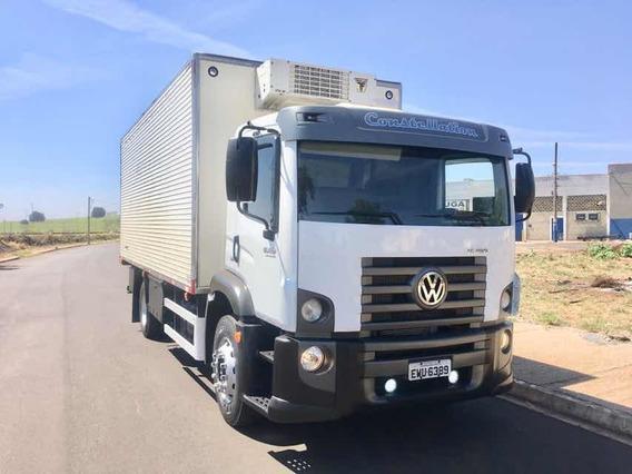 Volkswagen Vw 15190 2014 Bau Refrigerado Gancheira Canaletad
