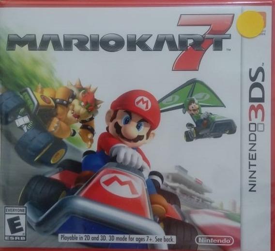 Mario Kart 7 Nintendo 3ds Novo Lacrado Envio Imediato
