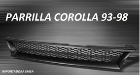 Parrilla Toyota Corolla 93-98 , Oferta