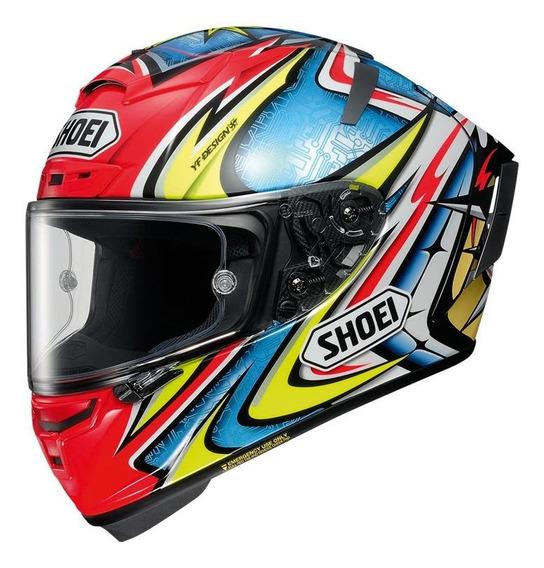 Capacete para moto integral Shoei X-Spirit III daijiro tc-1 tamanho L