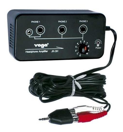 Amplificador P/ Fone De Ouvido Jk 3 H Yoga - Super Oferta