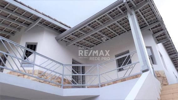 Casa Térrea Com Edícula Para Locação, Vinhedo - Sp Ca6233 - Ca6233