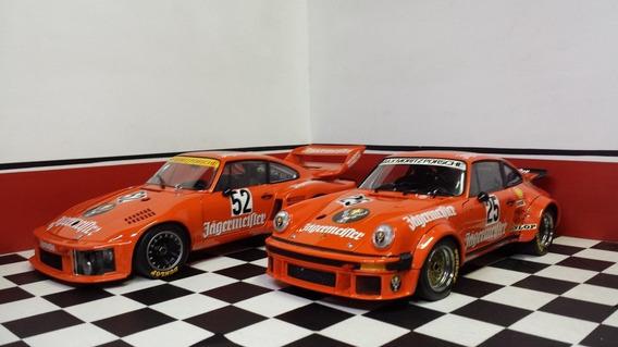 1/18-porsche 934 Rsr #24 Porsche 935 #52 - Exoto Gift Set