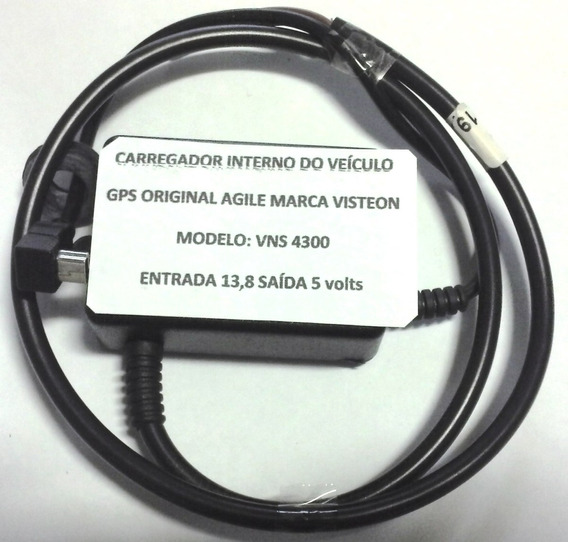 Carregador Interno Gps Original Visteon Vns-4300 Agile Novo