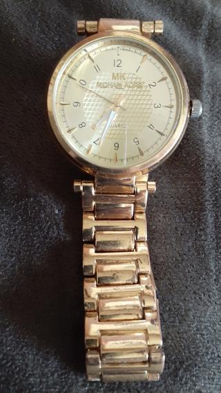 Vendo Relógio De Pulso Michael Kors Original Banhado A Ouro