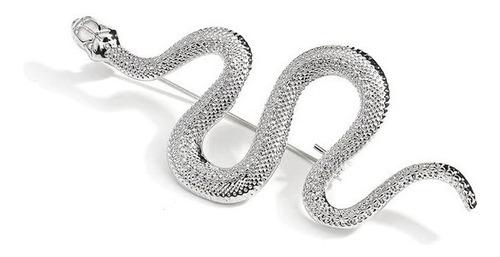 Imagen 1 de 3 de Broche Prendedor Serpiente Unisex