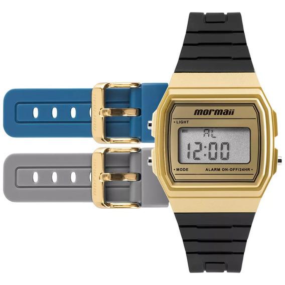 Relógio Digital Mormaii Troca Pulseira Mojh02af/8d