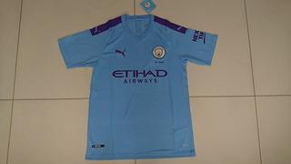 Camisa Manchester City Home 19/20 Tamanho M