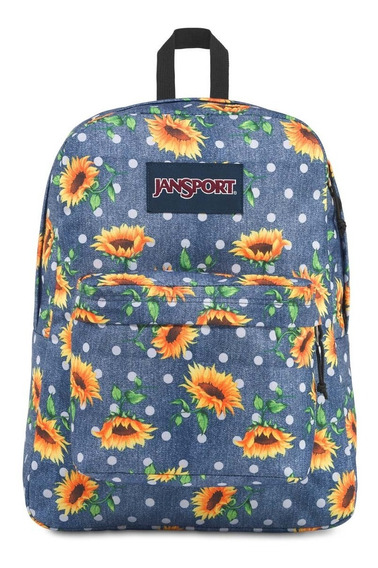 Zonazero Mochila Jansport Superbreak Sunflowers