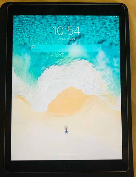 iPad Pro 12.9 Com Teclado E Sleve De Couro Apple Originais
