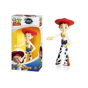 Boneco Vinil Toy Story Jessie - Líder Brinquedos Pixar