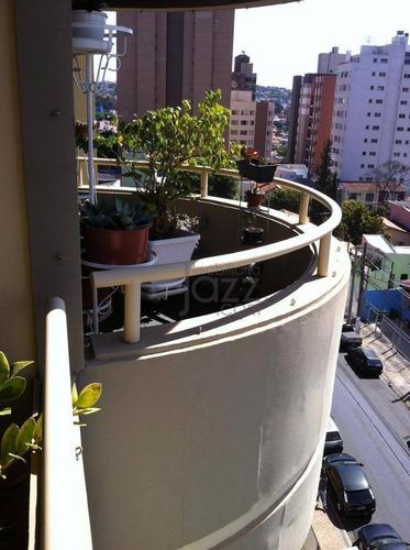 Apartamento Com 2 Dormitórios À Venda, 160 M² Por R$ 1.200.000 - Cambuí - Campinas/sp - Ap1665