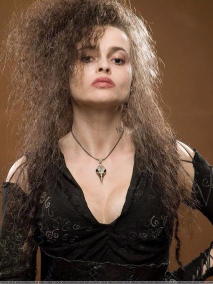Colar Bellatrix Lestrange Crânio Pingente Harry Potter