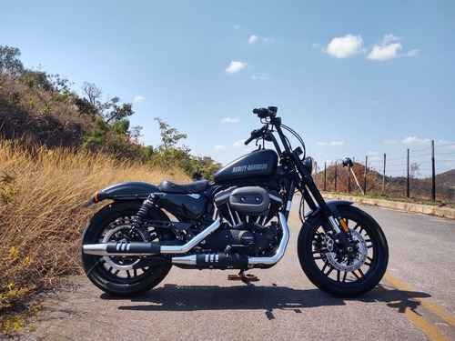 Imagem 1 de 10 de Harley-davidson  Sportster Roadster