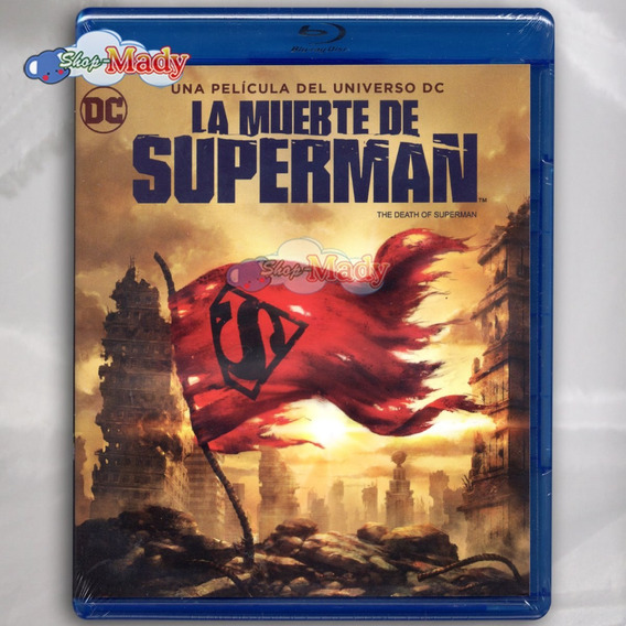 La Muerte De Superman (the Death Of Superman) Blu-ray Reg. A