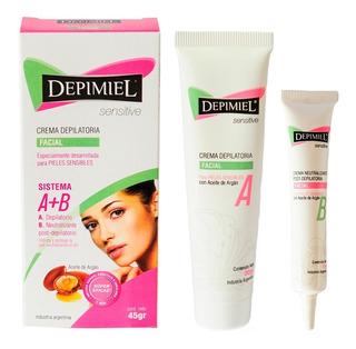 Depimiel Sensitive Crema Facial Depilatoria Piel Sensible