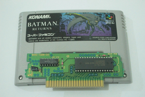 Batman Returns Original Para Super Nintendo Super Famicom