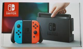 Nintendo Switch Console (paquete Completo)