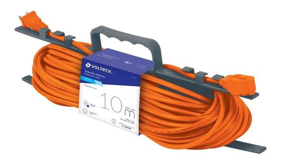 Extensión Eléctrica Uso Rudo 10 M Calibre 16 Volteck 48046