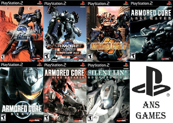 Patchs Ps2 - Armored Core Collection