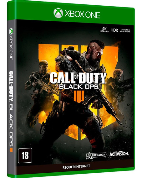 Call Of Duty: Black Ops 4 Xbox One Português Mídia Física