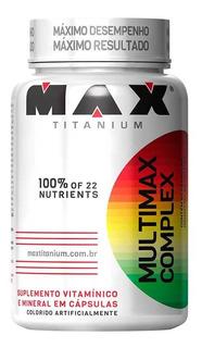 Multivitamínico Multimax Complex 90 Cápsulas - Max Titanium