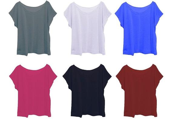 Kit 20 T-shirt Femina Plus Size G3 Atacado Revenda Escolha