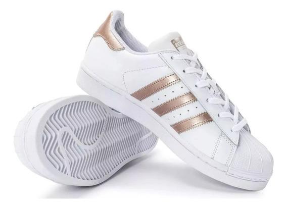 Tênis adidas Kit2 Pares Superstar Gucci Abelhinha Unissex