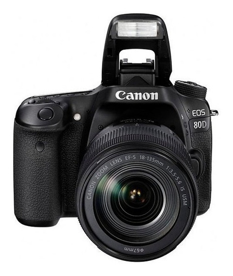 Câmera Digital Canon Rebel Eos-80d 18-135mm