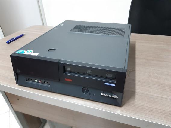 Desktop Lenovo Core 2 Duo E8400 4gb 160hd Seminovo
