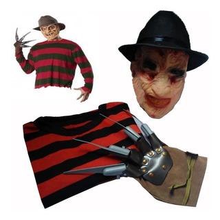 Disfraz De Freddy Krueger Elm Street Halloween