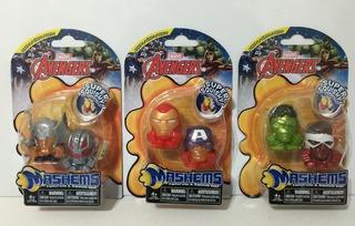 Mashems Marvel Avengers X2 Figuras Jlt 51681 La Torre