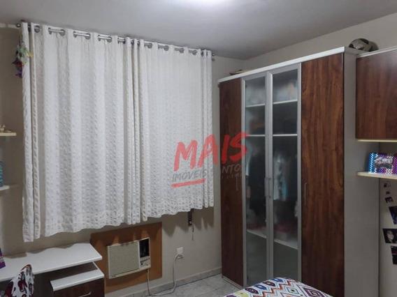 Apartamento Com 3 Dormitórios À Venda, 93 M² - Embaré - Santos/sp - Ap5265