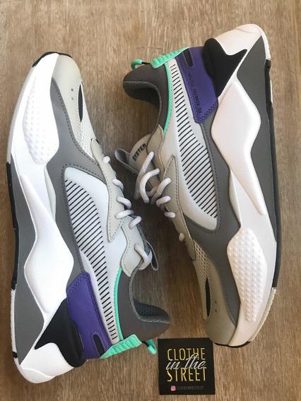 Puma Zapatillas Lifestyle Hombre Rs-x Tracks Gris - Violeta