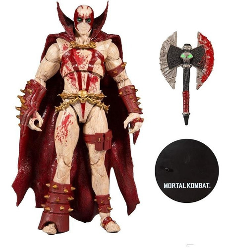 Imagen 1 de 3 de Spawn Blood Feud Hunter Ver. Mortal Kombat Mcfarlane