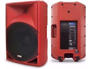 Novik Evo-350a Usb Rojo Bafle Potenciado 15p 350w Rms Bluet