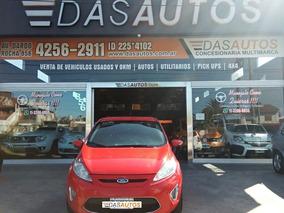 Ford Fiesta Kinetic 1.6 Nafta Año 2012 Financio -dasautos-