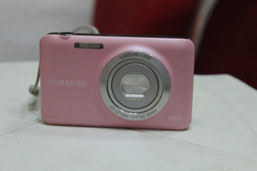 Câmera Samsung Es95 Rosa, 16.1 Mp, 5x Zoom, Visor Lcd De 2.7