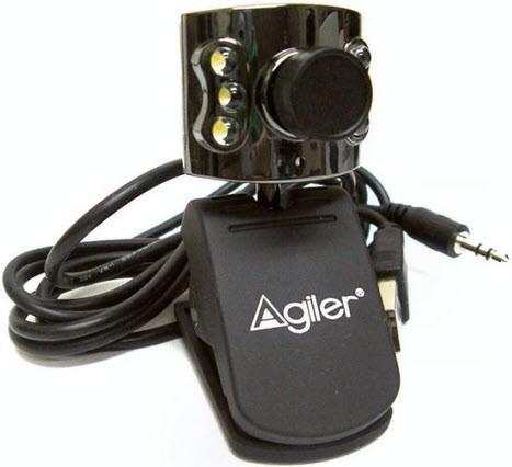 Camara Webcam Laptop Pc Led Microfono Usb Agiler Agi4184 Ccc