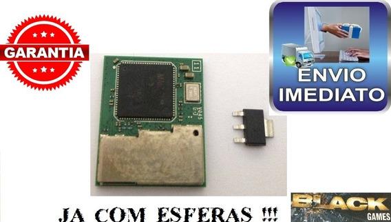 3 Peças Módulo Wifi Ps3 Super Slim + Regulador 1.8 + Esferas