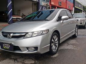 Honda Civic Lxl 1.8 16v Aut. 2011 - Completo - Top De Linha