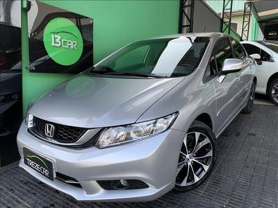 Honda Civic 2.0 Lxr Flex-one 4p Automático